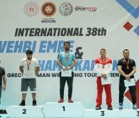 Вааг Маргарян Серебренный призер Международного турнира